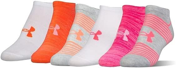 Under Armour Women's Essential Twist No Show Socks (6 Pack)