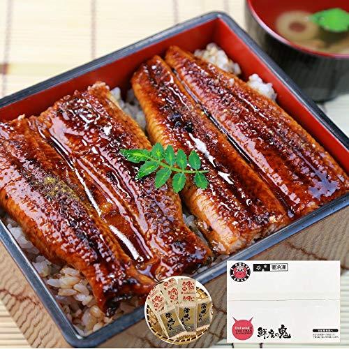 鮮度の鬼 うなぎ カット 蒲焼き 3パック 国産 鰻 ウナギ 蒲焼 プレゼント ギフト