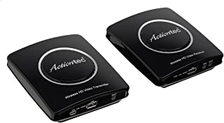 Actiontec Wireless HD Transmitter & Receiver Extender Kit, Full HD 1080P to Stream Video from Cable Box, Blu-Ray, DVR, PS4, Xbox to HDTV (My Wireless TV2 MWTVKIT01)