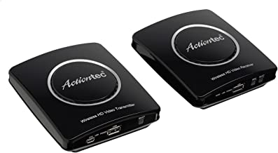 Actiontec Wireless HDMI Transmitter & Receiver Extender Kit, Full HD 1080P to Stream Video from Cable Box, Blu-Ray, DVR, PS4, Xbox to HDTV (My Wireless TV2 MWTVKIT01)