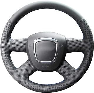 2pcs del volante ajuste decorativo direcci/ón de bastidor ajuste de la cubierta Compatible con F16 F20 F22 F30 F32 F10 F06 F15 Chrome Manejo de la rueda de acabado