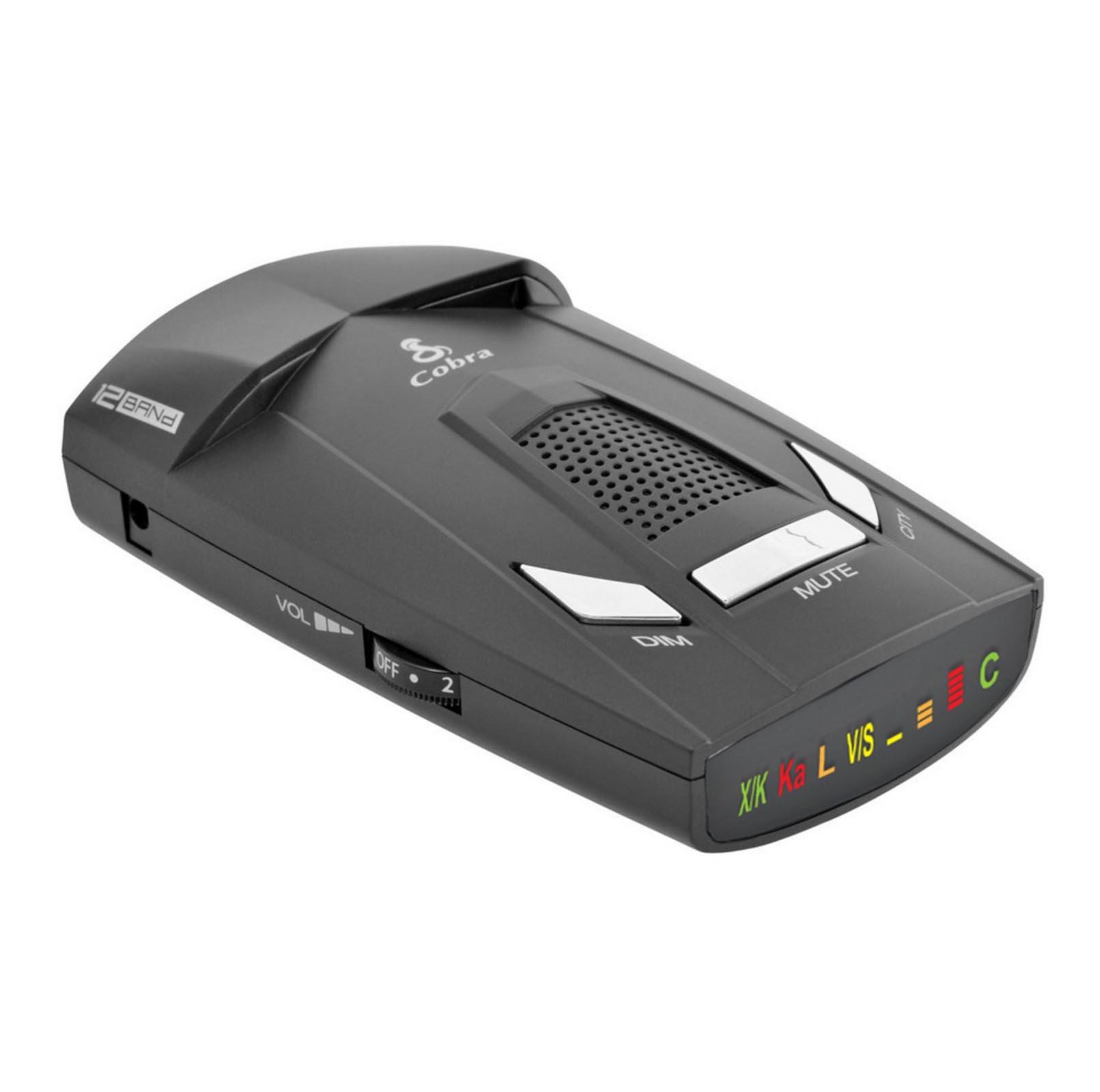 Cobra 12 Band Detector ESR 800