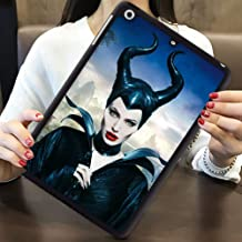 DISNEY COLLECTION Case for iPad Mini 2 Maleficent Angelina Jolie Elle Fanning Lightweight Cartoon Cute TPU Shockproof Defender Protective Cover