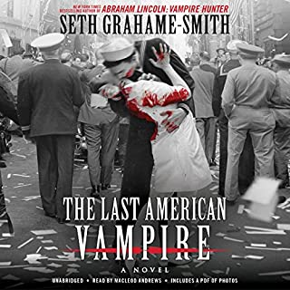 The Last American Vampire audiobook cover art