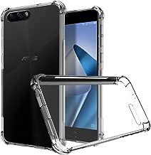 ZeKing Asus ZenFone 4 MAX/ZC554KL Case, Ultra Slim Thin Anti-Scratch TPU Rubber Soft Skin Silicone Premium Protective Case Cover for Asus ZenFone 4 MAX/ZC554KL (Transparent)