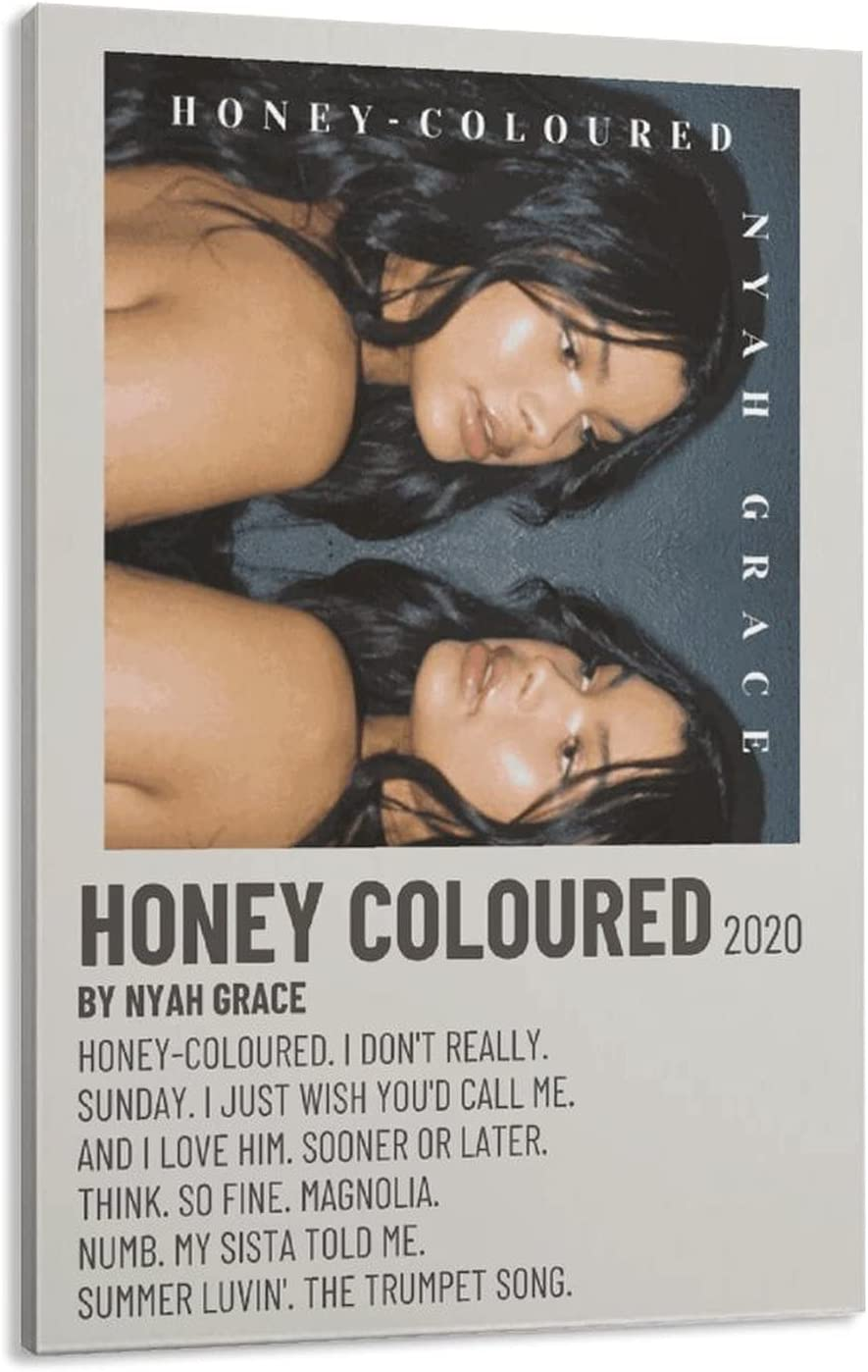 favorite HONEY-COLOURED by NYAH Ranking TOP2 GRACE Room Poster Poste Canvas Aesthetics