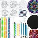 27-Piece BOKIN Mandala Dotting Tools Stencil Set