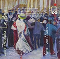Chamber Music by Le Beau (2015-05-03)