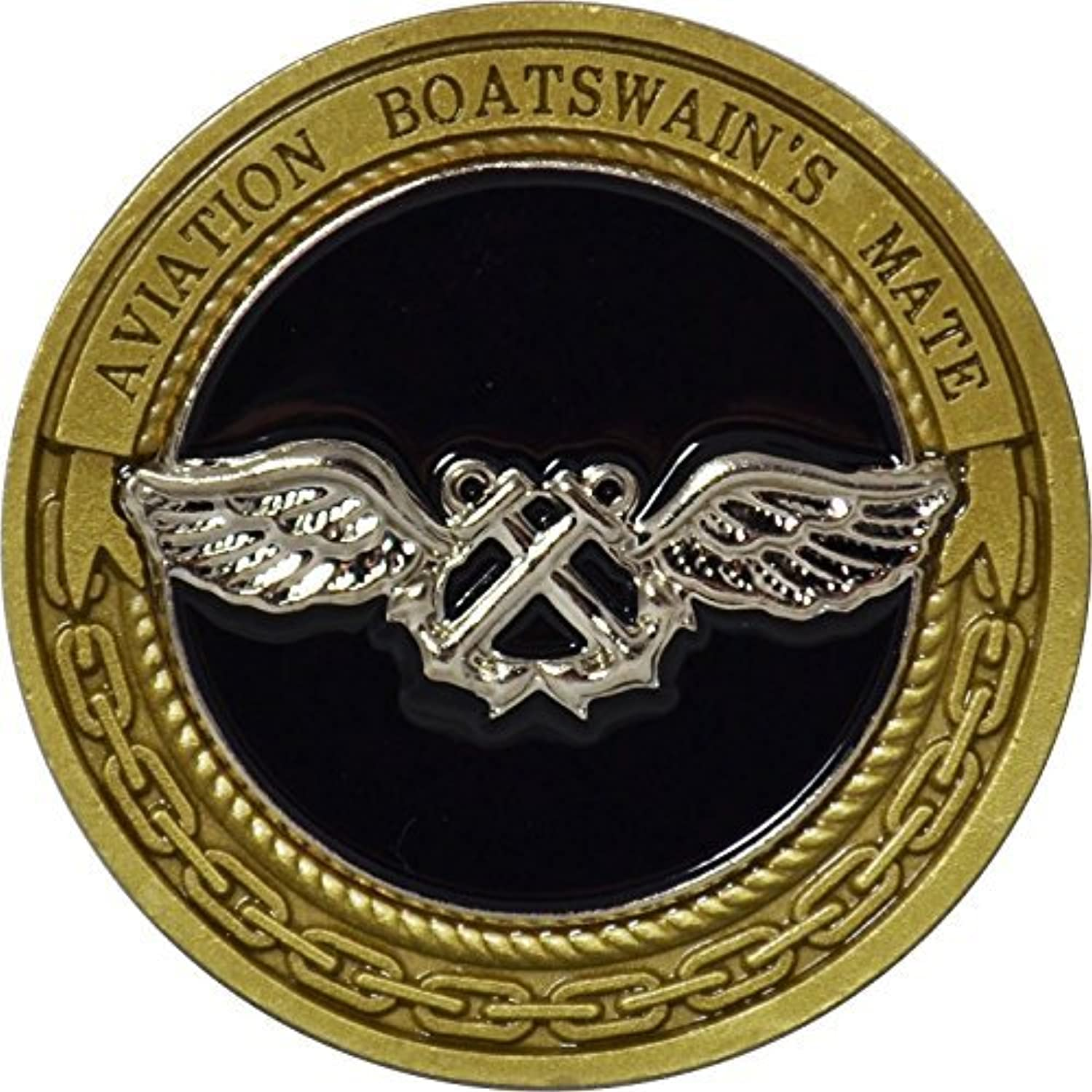 Navy Aviation Boatswain's Mate Challenge Coin by Military Productions