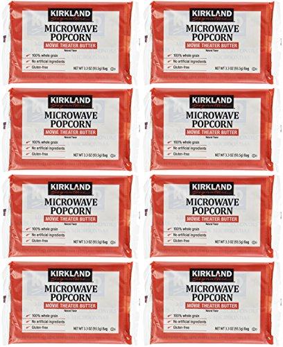 KIRKLAND(カークランド) カークランド MICROWAVE ポップコーン 8袋