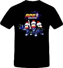 RetroGame Ape Escape Million Monkeys Team, Costum Tshirt
