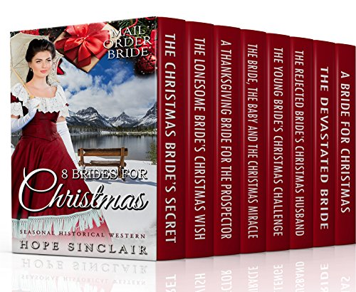 8 Christmas Brides: Seasonal Historical Western