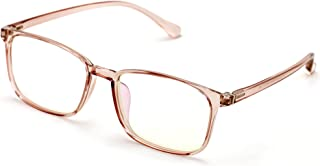 0a079641f0b Lightweight Crystal Fashion TR90 Non-prescription Rectangular Glasses Frame  Clear Lens Eyeglasses Rx able