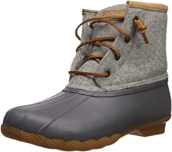 Sperry Women's Saltwater Emboss Wool Boots