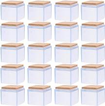 Hemoton 20 stuks meubels siliconen bescherming stoelpoten kappen afdekking siliconen vloerbescherming onderstoelkussens vo...