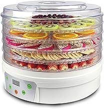 Le déshydrateur en plastique de nourriture de couches de Digital 5 de dessiccateur de fruit 250 watts 350 watts (Couleur :...
