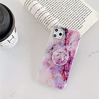 TREW Marble Stand Telefoonhouder Case Voor iphone 11 Pro X XR XS Max 7 8 6 6S Plus Case Silicone Zachte TPU Back Cover She...
