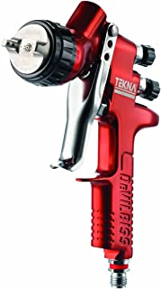Tekna 703661 Copper 1.3mm and 1.4mm Fluid Tip High Efficiency Spray Gun with 7E7 Air Cap