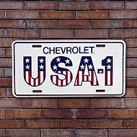 CMプレート/Chevrolet USA-1