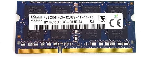 Hynix 4GB PC3L-12800S DDR3 1600MHz 204pin Laptop Memory HMT351S6EFR8C HMT351S6EFR8C-PB