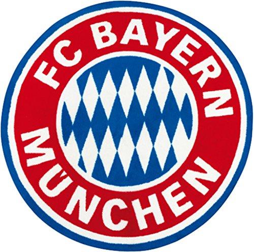 FC Bayern Fan Teppich Logo OVP Fußball FCB