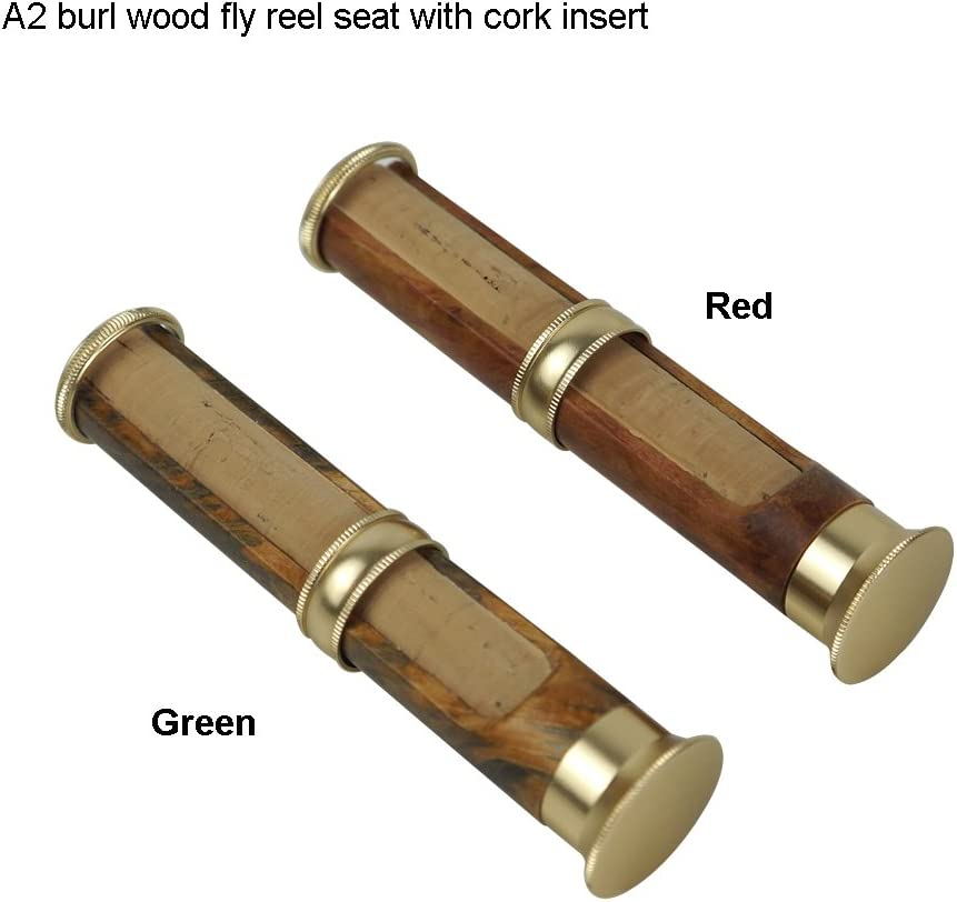 Classic Design Lightweight Fishing Reel Seat Casting//Spinning Wood Reel Seat