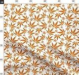 Blätter, orange, natürlich, Gras, Marihuana, Cannabis,