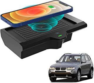 Wireless Charger Pad for BMW X3 G01 2018 2019 2020 2021,Fit for BMW X4 2019 2020 2021 Accessories,Wireless Charging Center...