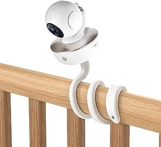 Aobelieve Outdoor Waterproof Case and Flexible Twist Mount - Compatible with Google Nest Cam Indoor - White