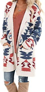 Womens Long Sleeve Popcorn Knit Open Front Long Cardigan Sweaters Coats with Pockets