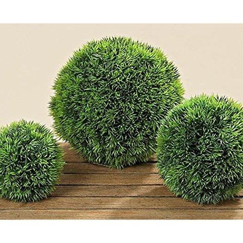 Graskugel Kunststoff grün Durchmesser 23 cm Dekokugel