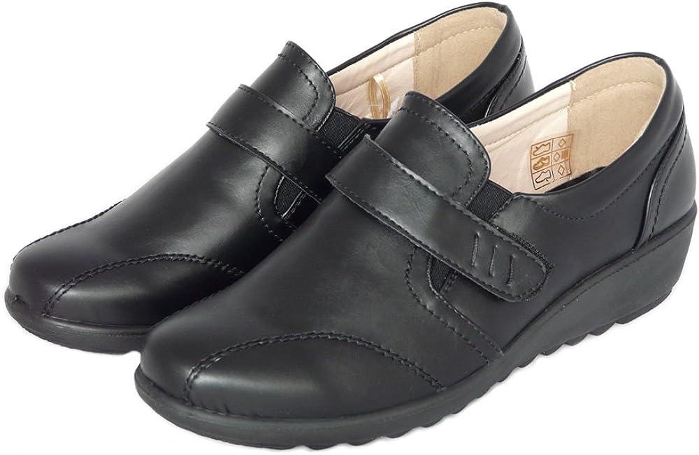 Mocassins Semelle Int/érieure en Cuir Cushion Walk Chaussures /à Scratch Femmes