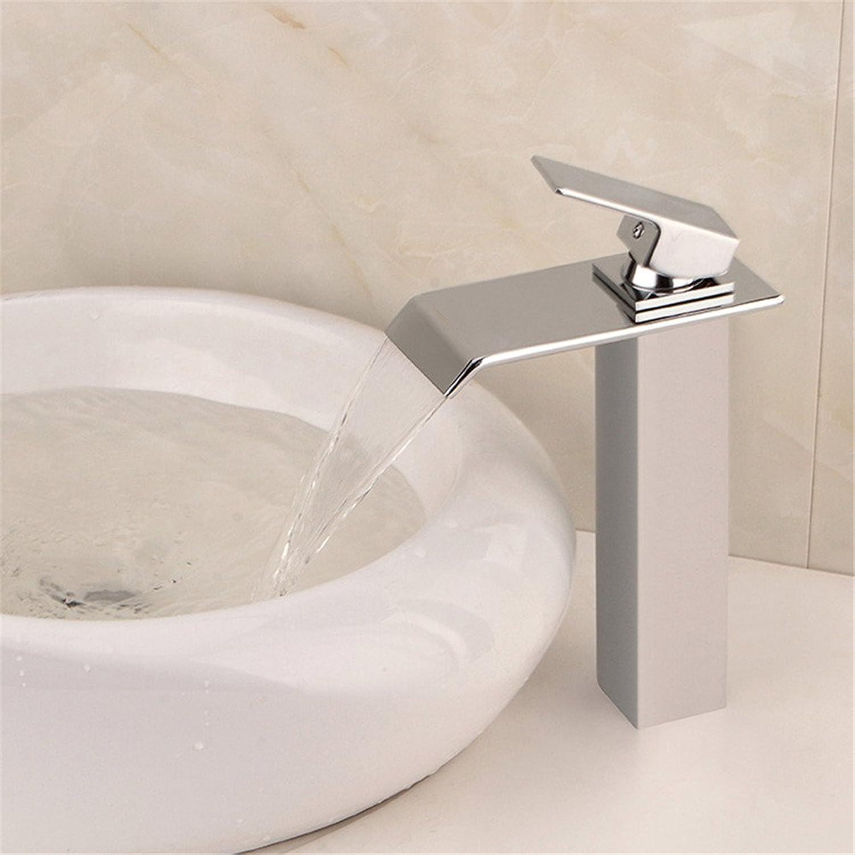 Bijjaladeva Antique Bathroom Sink Vessel Faucet Basin Mixer Tap The brass quartet waterfall sink basin faucet back-up hot and cold-water faucet