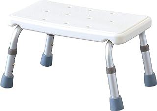 シャワーチェア バスチェア シャワースツール お風呂 椅子 風呂椅子 風呂チェア 背なし 高さ調節可能 入浴補助用具 (シャワーステップ/高さ3段階)
