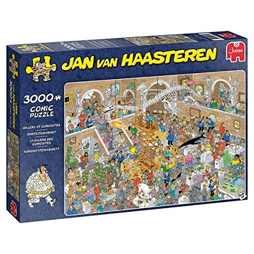 Jumbo 20031 Jan Van Haasteren-Kuriositätenkabinett-3000 Teile Puzzlespiel, Mehrfarben