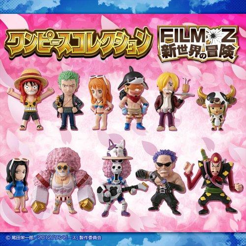 ワンピースコレクション FILM Z 新世界の冒険 12個入 BOX (食玩)