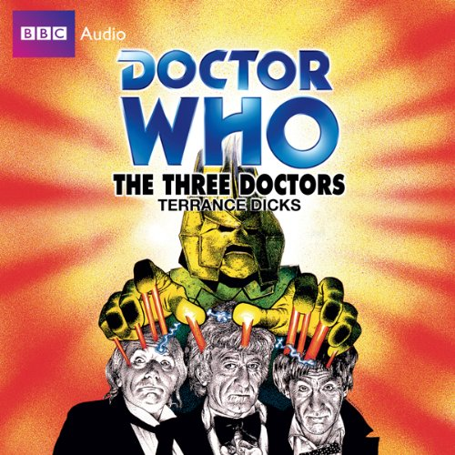 Doctor Who: The Three Doctors audiobook cover art