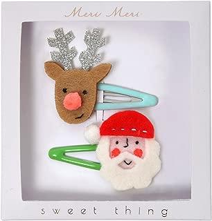 Meri Meri Pack of 2 Christmas Character Hair Clips