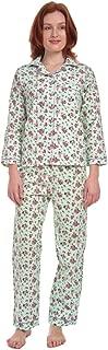 Women's Floral Cotton Flannel Pajama Set