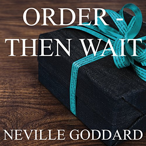 Order - Then Wait audiobook cover art