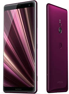 Sony Xperia XZ3 (H9493) 6GB / 64GB (Bordeaux Red) 6.0-inches LTE Dual SIM Factory Unlocked - International Stock No Warranty