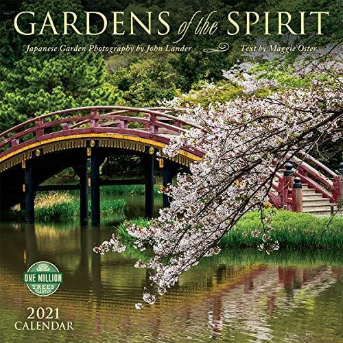 Gardens of the Spirit 2021 Wall Calendar Japanese Garden Photography product image