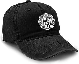 Bowling Bgsu Green State University Classic Unisex Adult Snapback Denim Hats for Men Black