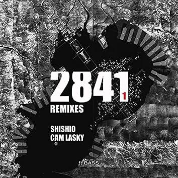 2841, Pt. 1 Remixes