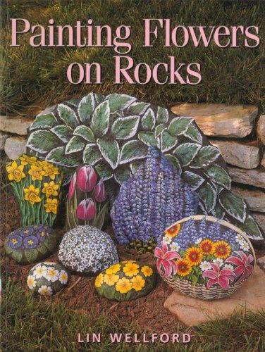 Painting-Flowers-on-Rocks