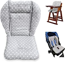 high chair pads for wooden high chairs