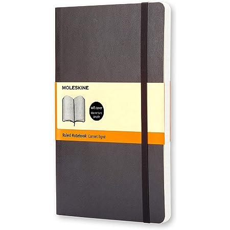 モレスキン ノート クラシック ソフト 横罫 ポケット QP611 黒