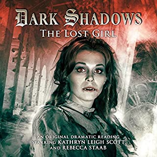 Dark Shadows - The Lost Girl audiobook cover art