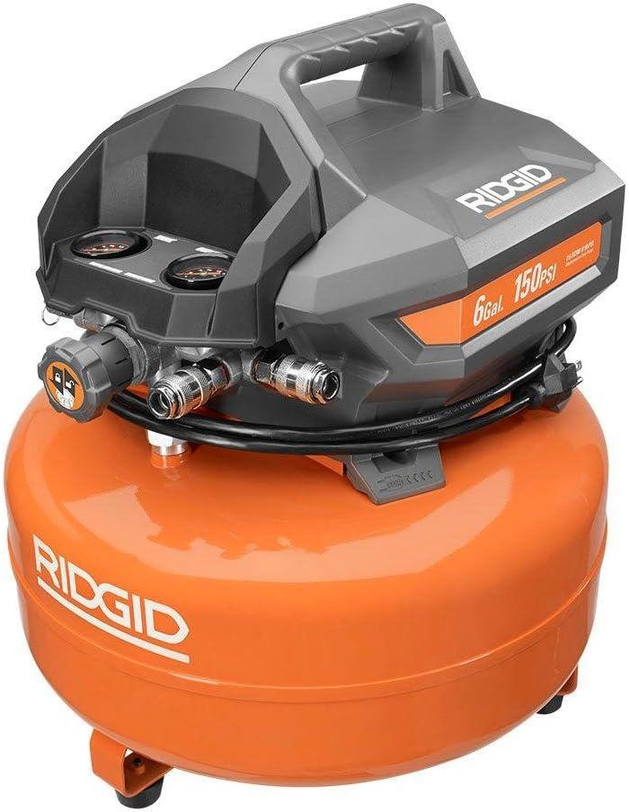 Ridgid Air Compressor Maintenance Free Portable Electric