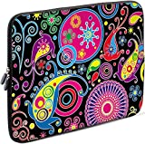 Sidorenko Tablet PC Tasche für 10-10.1 Zoll | Universal Tablet Schutzhülle | Hülle Sleeve Case Etui aus Neopren, Mehrfarbig